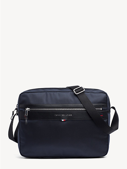 TOMMY HILFIGER Smart Nylon Messenger Bag - TOMMY NAVY - TOMMY HILFIGER Messenger Bags - main image