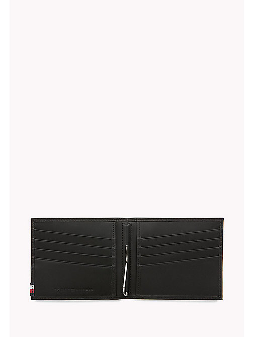 TOMMY HILFIGER Soft Leather Clip Wallet - BLACK - TOMMY HILFIGER Wallets & Keyrings - detail image 1