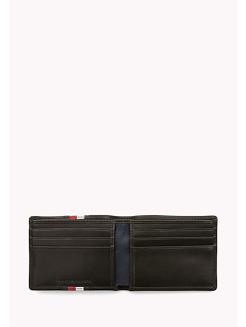 TOMMY HILFIGER Leather Stripe Wallet - BLACK - TOMMY HILFIGER Wallets & Keyrings - detail image 1