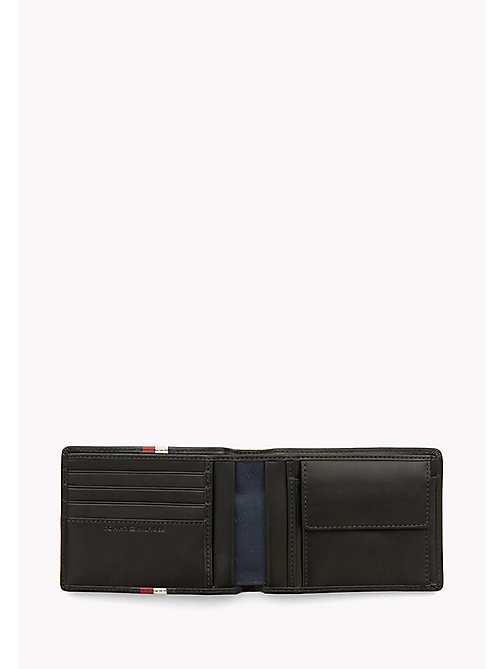 Leather Stripe Wallet - BLACK - TOMMY HILFIGER Bags & Accessories - detail image 1