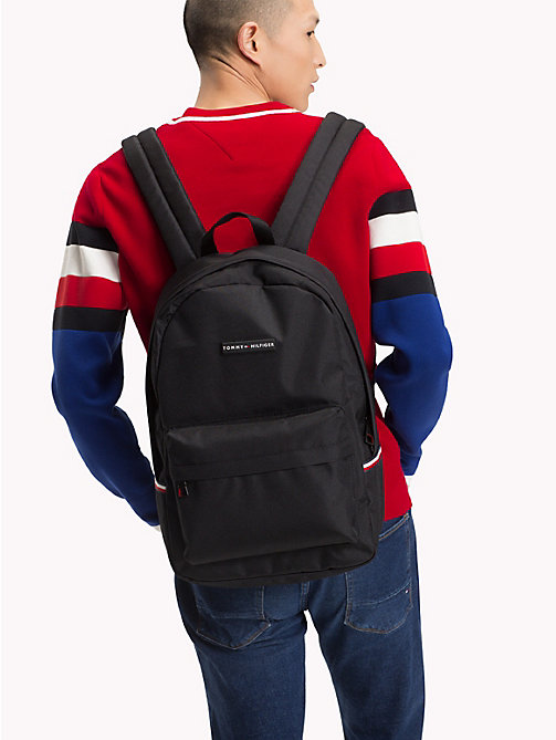 TOMMY HILFIGER Tommy Backpack - BLACK - TOMMY HILFIGER Backpacks - detail image 1