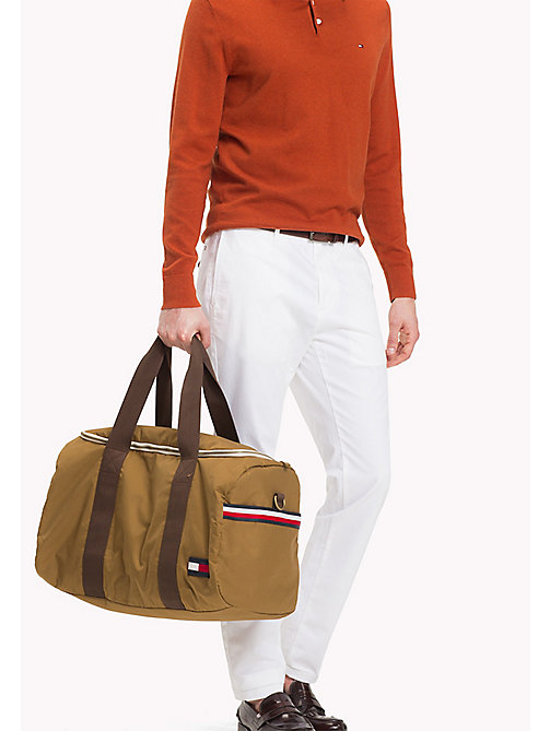 TOMMY HILFIGER Workwear Duffle Bag - TAN - TOMMY HILFIGER Bags & Accessories - detail image 1