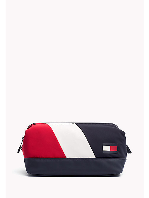 TOMMY HILFIGER Trousse de toilette colour-block - CORPORATE - TOMMY HILFIGER Sacs - image principale