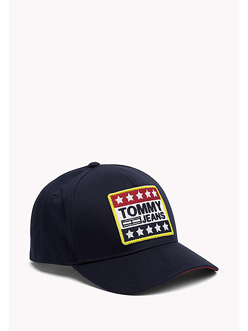 TOMMY JEANS Big Logo Baseball Cap - TOMMY NAVY - TOMMY JEANS Tommy Jeans Shoes & Accessories - main image