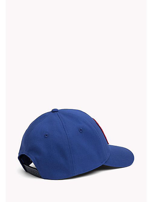 TOMMY JEANS Big Logo Baseball Cap - NAUTICAL BLUE - TOMMY JEANS MEN - detail image 1