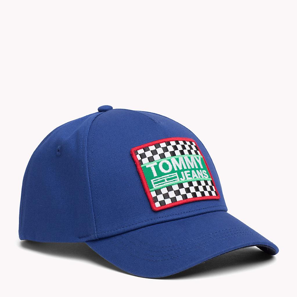 Mens TJM Big Logo Patch Baseball Cap Tommy Jeans 5o0gv