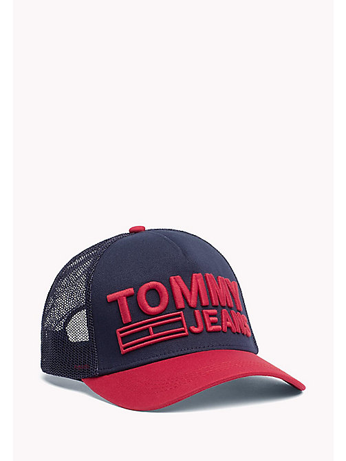 TOMMY JEANS TJM LOGO TRUCKER CAP - CORPORATE - TOMMY JEANS HERREN - main image