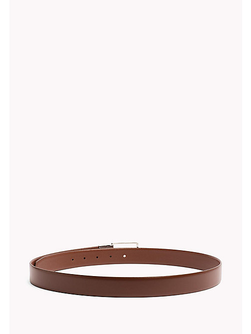 TOMMY HILFIGER Reversible Leather Belt - BROWN-BROWN - TOMMY HILFIGER VACATION FOR HIM - detail image 1