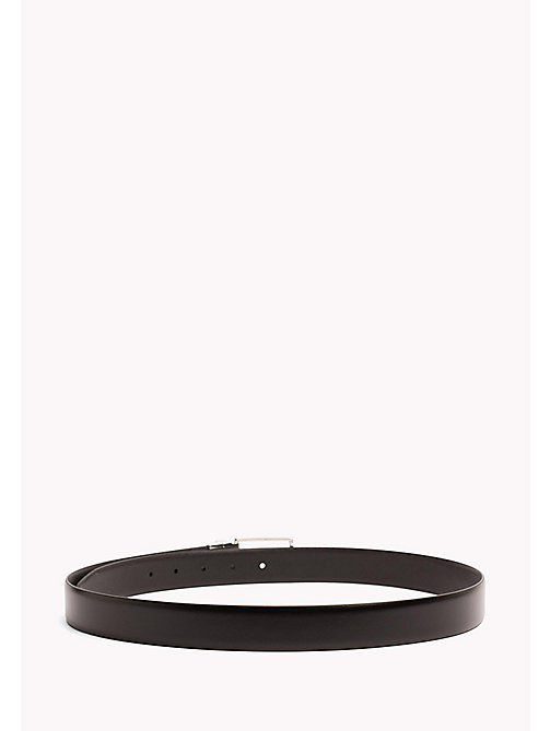 TOMMY HILFIGER Reversible Leather Belt - BLACK-BLACK - TOMMY HILFIGER NEW IN - detail image 1
