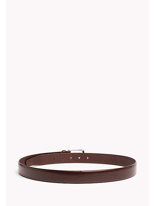 TOMMY HILFIGER Tailored Leather Belt - BROWN - TOMMY HILFIGER NEW IN - detail image 1
