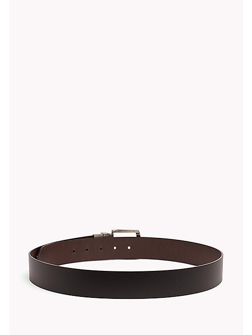 TOMMY JEANS Reversible Leather Belt - BLACK-BROWN - TOMMY JEANS Tommy Jeans Shoes & Accessories - detail image 1