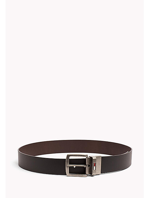 TOMMY JEANS Reversible Leather Belt - BLACK-BROWN - TOMMY JEANS Tommy Jeans Accessories - main image
