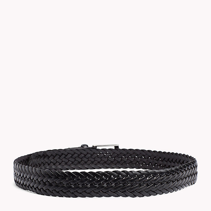 TOMMY HILFIGER Woven Leather Belt - TESTI DI MORO - TOMMY HILFIGER Men - detail image 1