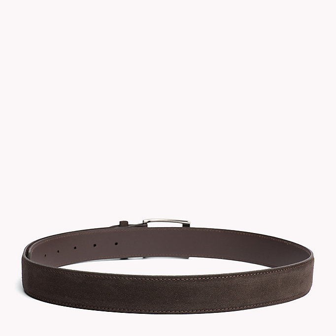 TOMMY HILFIGER Leather Belt - MIDNIGHT - TOMMY HILFIGER Men - detail image 1