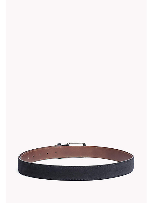 TOMMY HILFIGER Leather Belt - MIDNIGHT - TOMMY HILFIGER VACATION FOR HIM - detail image 1