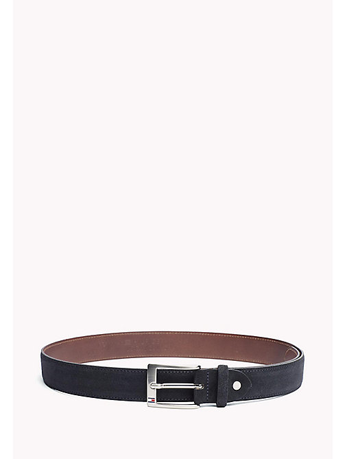 TOMMY HILFIGER Leather Belt - MIDNIGHT -  Belts - main image