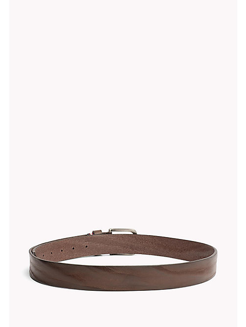 TOMMY HILFIGER Rustic Leather Belt - TESTI DI MORO - TOMMY HILFIGER Bags & Accessories - detail image 1
