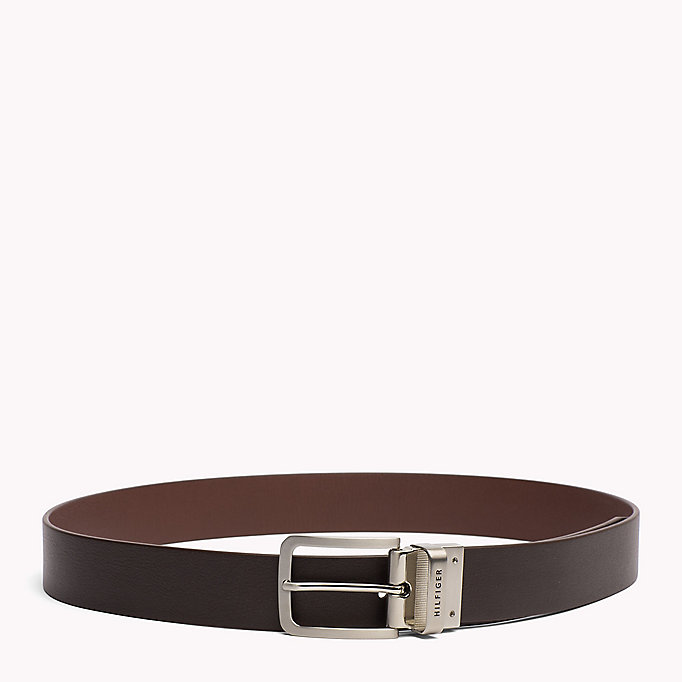 TOMMY HILFIGER Reversible Leather Belt - TOMMY NAVY-GREY - TOMMY HILFIGER Bags & Accessories - detail image 2