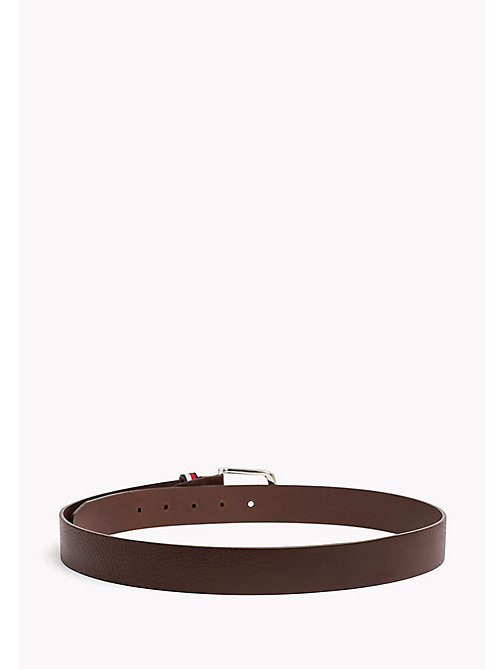 TOMMY HILFIGER Signature Loop Leather Belt - TESTI DI MORO - TOMMY HILFIGER Belts - detail image 1