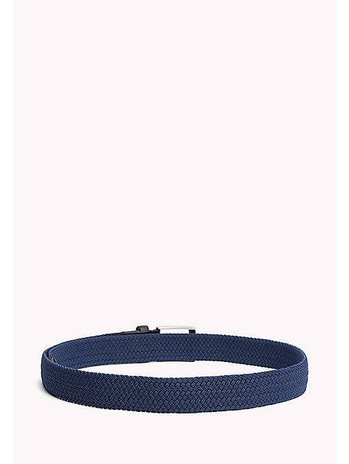 TOMMY HILFIGER Braided Belt - VINTAGE INDIGO - TOMMY HILFIGER Bags & Accessories - detail image 1