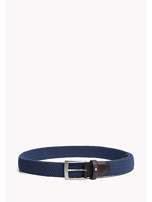TOMMY HILFIGER Braided Belt - VINTAGE INDIGO - TOMMY HILFIGER Belts - main image