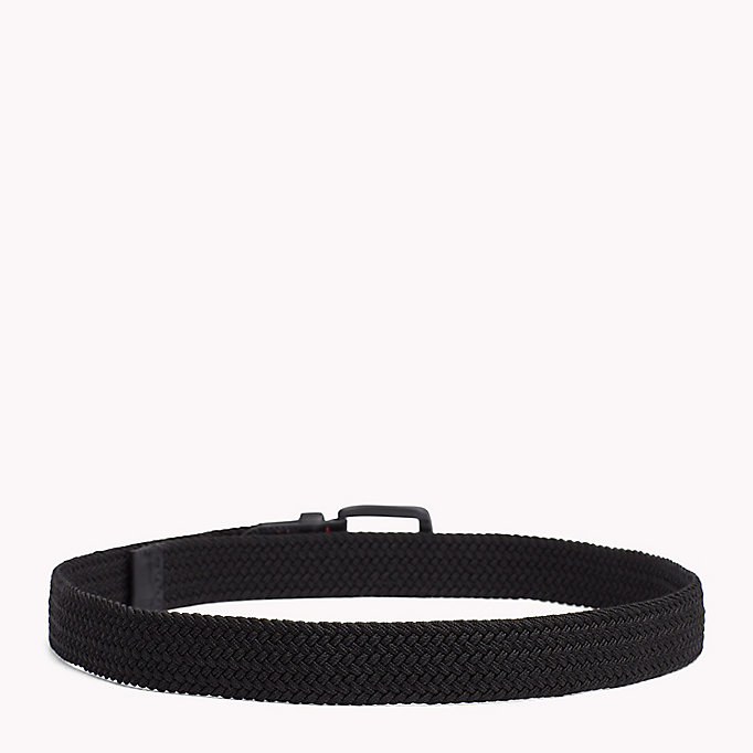 TOMMY HILFIGER Braided Belt - TOMMY NAVY - TOMMY HILFIGER Men - detail image 1