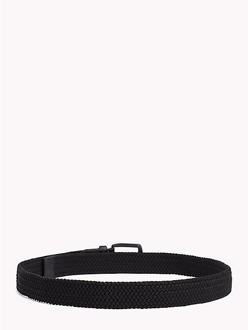 TOMMY HILFIGER Braided Belt - BLACK - TOMMY HILFIGER Belts - detail image 1