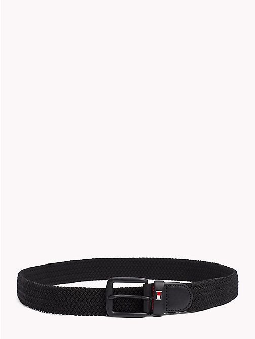 TOMMY HILFIGER Braided Belt - BLACK - TOMMY HILFIGER Belts - main image