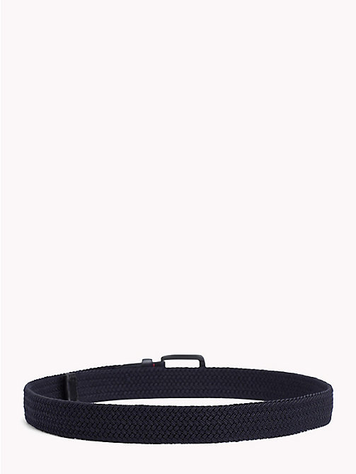 TOMMY HILFIGER Braided Belt - TOMMY NAVY - TOMMY HILFIGER VACATION FOR HIM - detail image 1