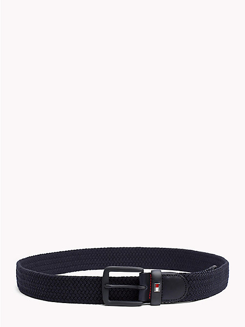 TOMMY HILFIGER Braided Belt - TOMMY NAVY - TOMMY HILFIGER Belts - main image