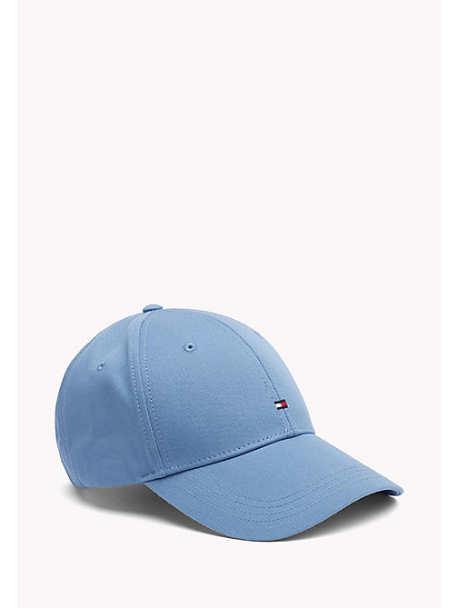 TOMMY HILFIGER Cotton Twill Baseball Cap - REGATTA - TOMMY HILFIGER Hats - main image