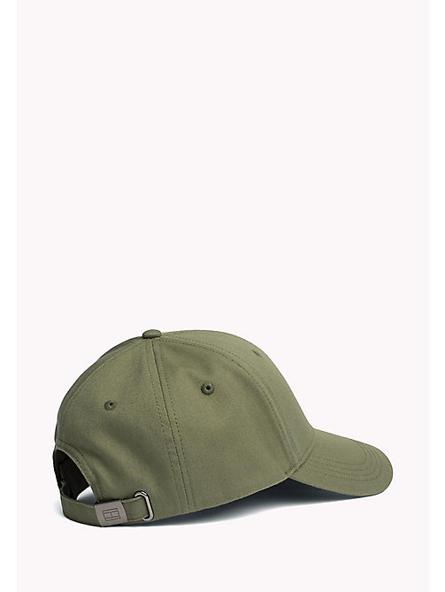 TOMMY HILFIGER Cotton Twill Baseball Cap - FOUR LEAF CLOVER - TOMMY HILFIGER Hats - detail image 1