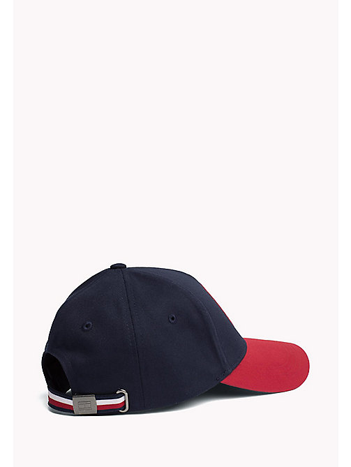 TOMMY HILFIGER Men's Tommy Hilfiger Badge Cap - TOMMY NAVY - TOMMY HILFIGER Hats - detail image 1
