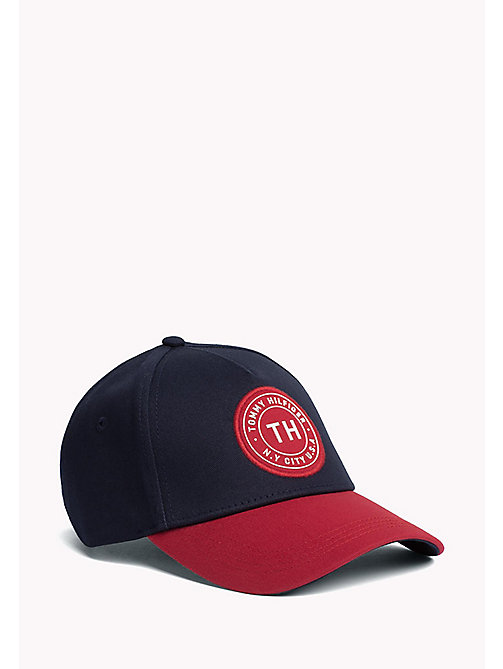 TOMMY HILFIGER Men's Tommy Hilfiger Badge Cap - TOMMY NAVY - TOMMY HILFIGER Bags & Accessories - main image