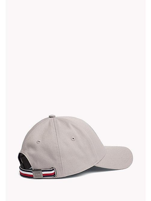 TOMMY HILFIGER Men's Tommy Hilfiger Badge Cap - CLOUD HTR - TOMMY HILFIGER Hats - detail image 1