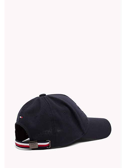 TOMMY HILFIGER Cotton Jersey Baseball Cap - TOMMY NAVY - TOMMY HILFIGER Bags & Accessories - detail image 1