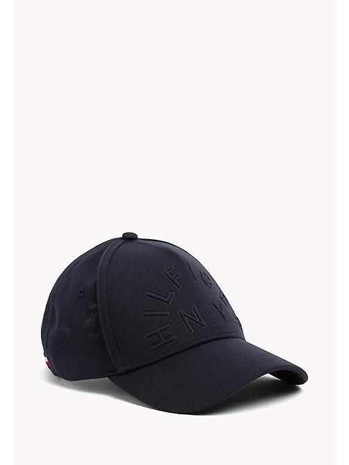 TOMMY HILFIGER Cotton Jersey Baseball Cap - TOMMY NAVY - TOMMY HILFIGER Bags & Accessories - main image