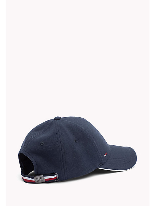 TOMMY HILFIGER Cotton Baseball Cap - TOMMY NAVY - TOMMY HILFIGER Bags & Accessories - detail image 1