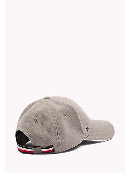 TOMMY HILFIGER Cotton Baseball Cap - CLOUD HTR - TOMMY HILFIGER Bags & Accessories - detail image 1