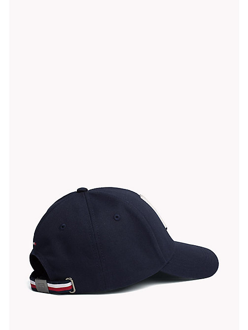 TOMMY HILFIGER Cotton Adjustable Cap - TOMMY NAVY - TOMMY HILFIGER Hats - detail image 1