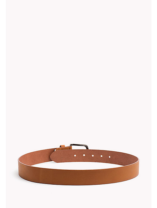 TOMMY HILFIGER Kids' Classic Belt - TAN - TOMMY HILFIGER Shoes & Accessories - detail image 1