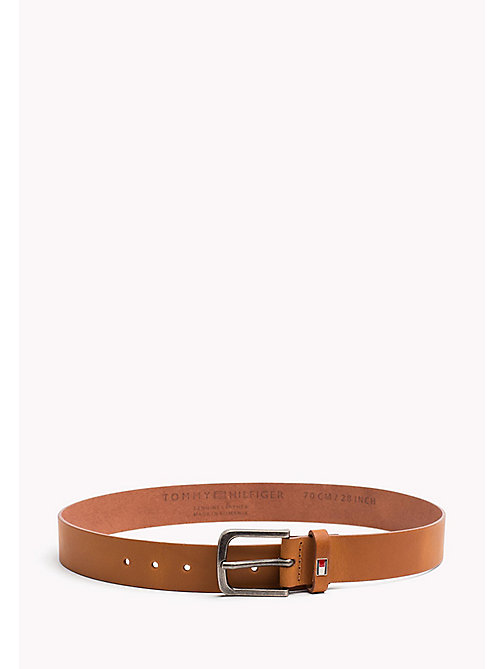 TOMMY HILFIGER Kids' Classic Belt - TAN - TOMMY HILFIGER Shoes & Accessories - main image