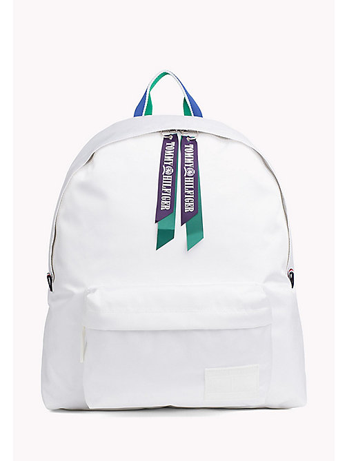TOMMY HILFIGER Tommy Hilfiger Zip Backpack - BRIGHT WHITE - TOMMY HILFIGER Hilfiger Collection - image principale
