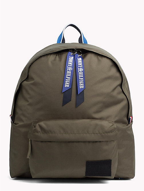 TOMMY HILFIGER Blue Backpack - FOUR LEAF CLOVER - TOMMY HILFIGER Backpacks - main image
