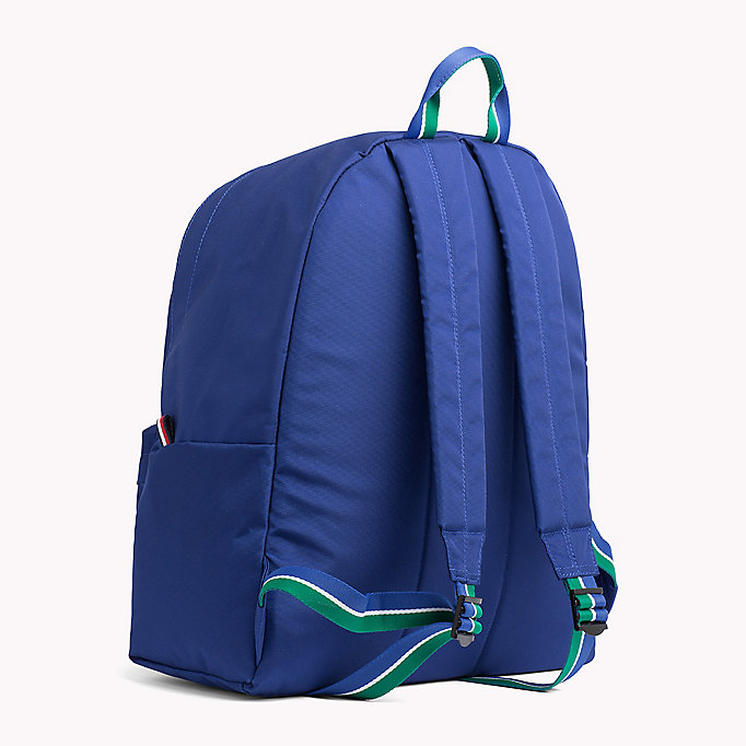 TOMMY HILFIGER Blue Backpack - BRIGHT WHITE - TOMMY HILFIGER Men - detail image 1