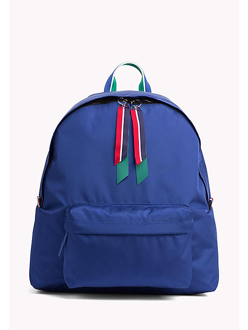TOMMY HILFIGER Blue Backpack - SURF THE WEB - TOMMY HILFIGER Bags & Accessories - main image
