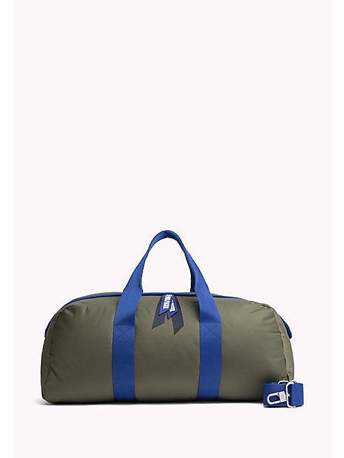 TOMMY HILFIGER Colour Contrast Duffle Bag - FOUR LEAF CLOVER - TOMMY HILFIGER Hilfiger Collection - main image