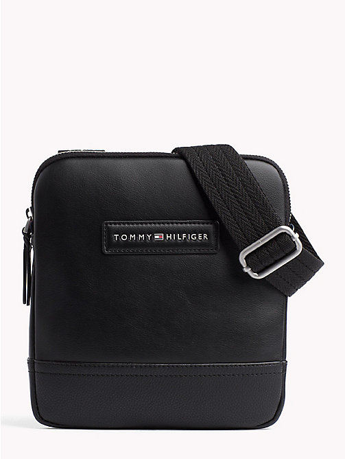 TOMMY HILFIGER Corporate Mini Cross Over Bag - BLACK - TOMMY HILFIGER Crossbody Bags - main image