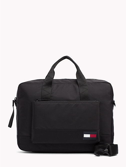 TOMMY HILFIGER Escape Laptop Bag - BLACK - TOMMY HILFIGER Laptop Bags - main image