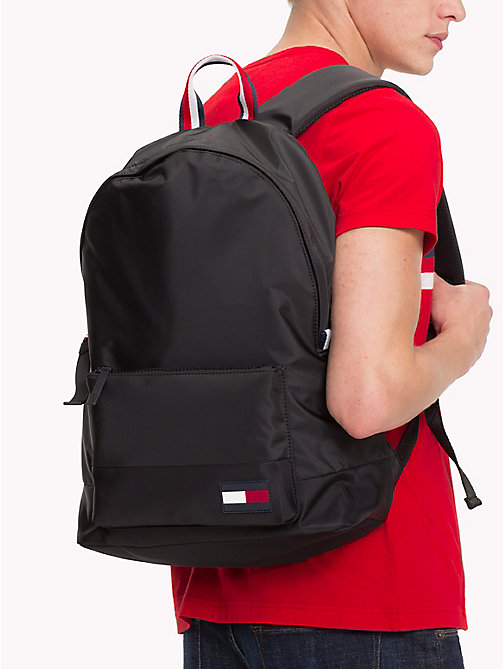TOMMY HILFIGER Escape Travel Backpack with Top Handle - BLACK - TOMMY HILFIGER Bags & Accessories - detail image 1